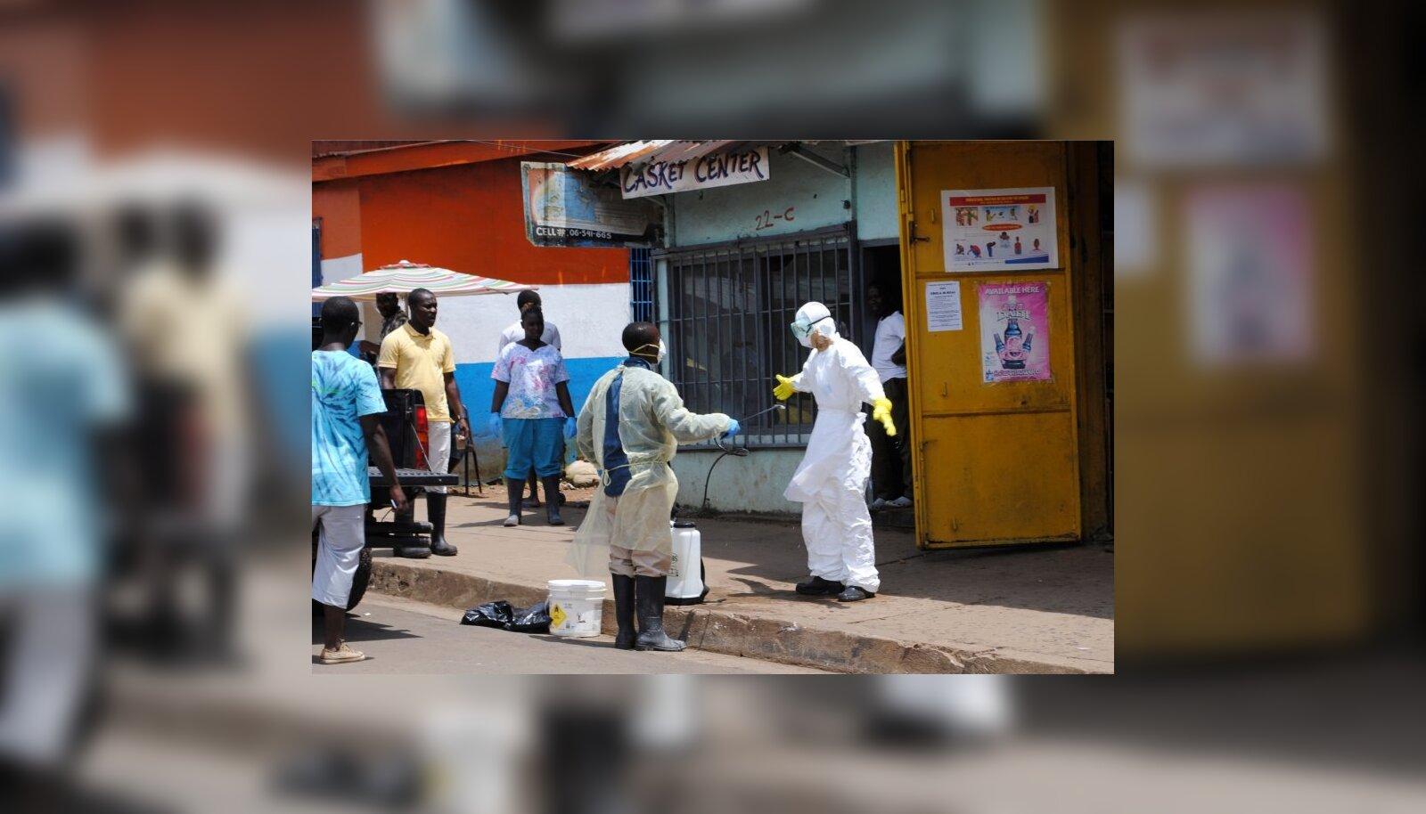 799923ac9b1 Ebola ohjeldamiseks ei jagu raha, ligi kaks kolmandikku on puudu