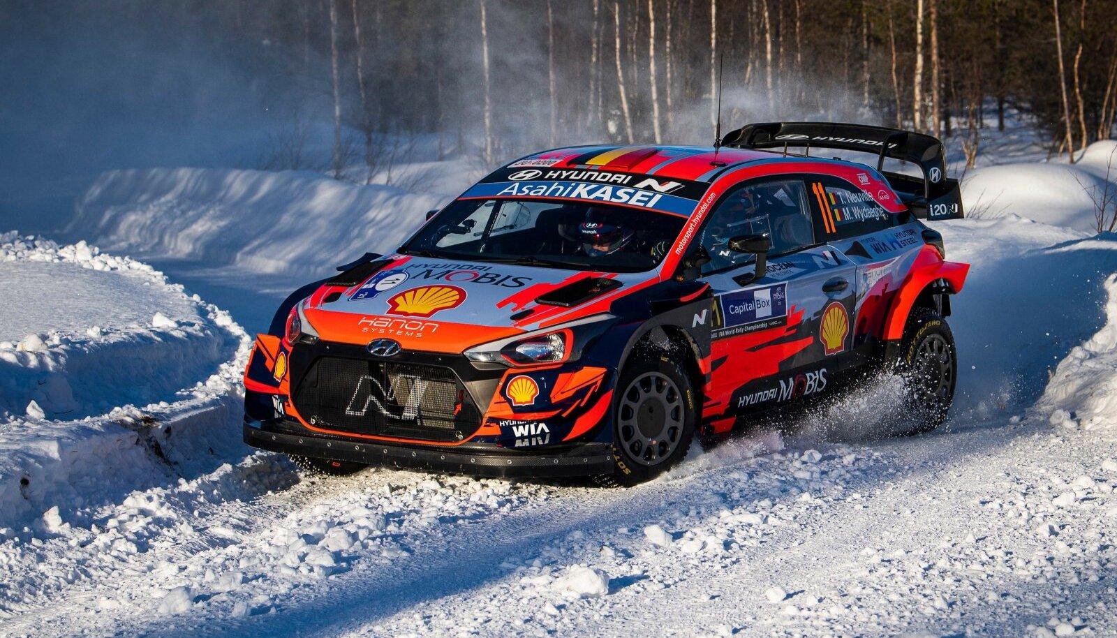 Auto: World rally championship (WRC), Arctic Rally