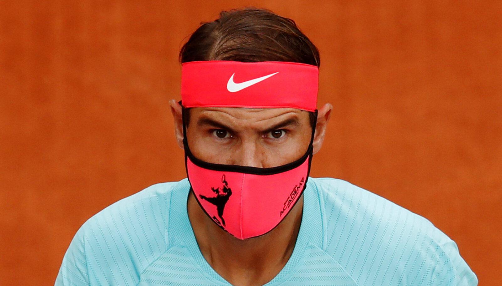 Rafael Nadal mullusel French Openil