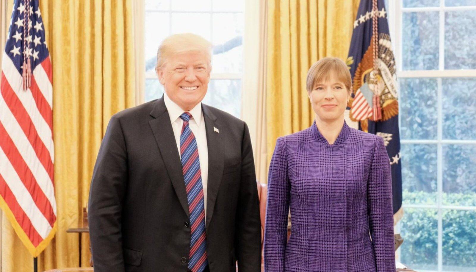 Kersti Kaljulaid Washingtonis