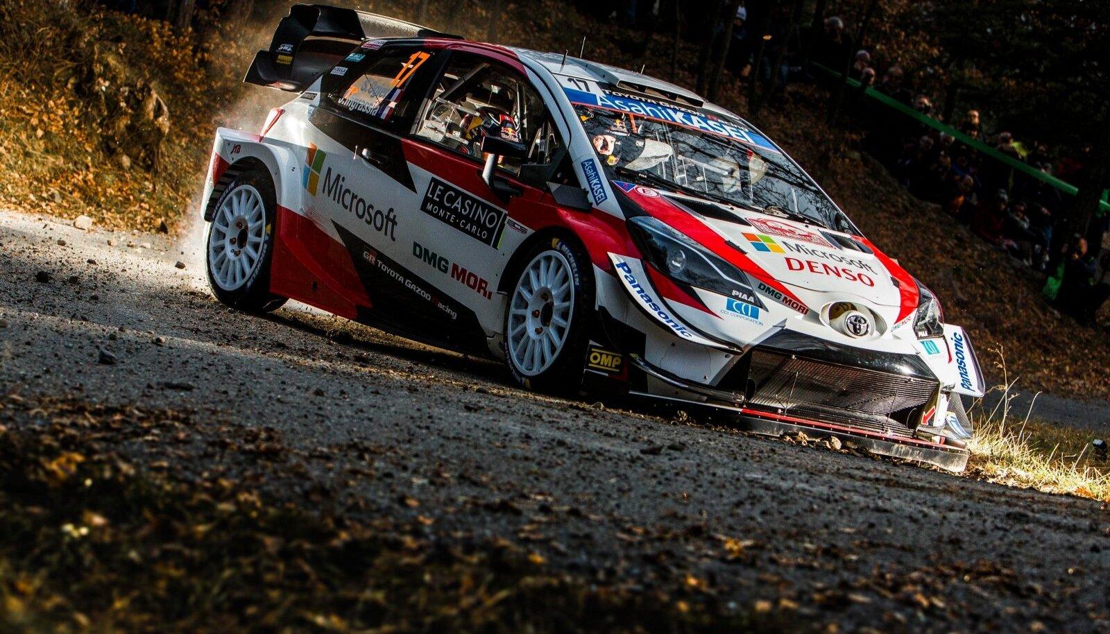 Sebastien Ogier (FRA) Ð Julien Ingrassia (FRA) - Toyota AUTOMOBILE : Rallye de Monte Carlo WRC, Motorsport Rallye, WM -