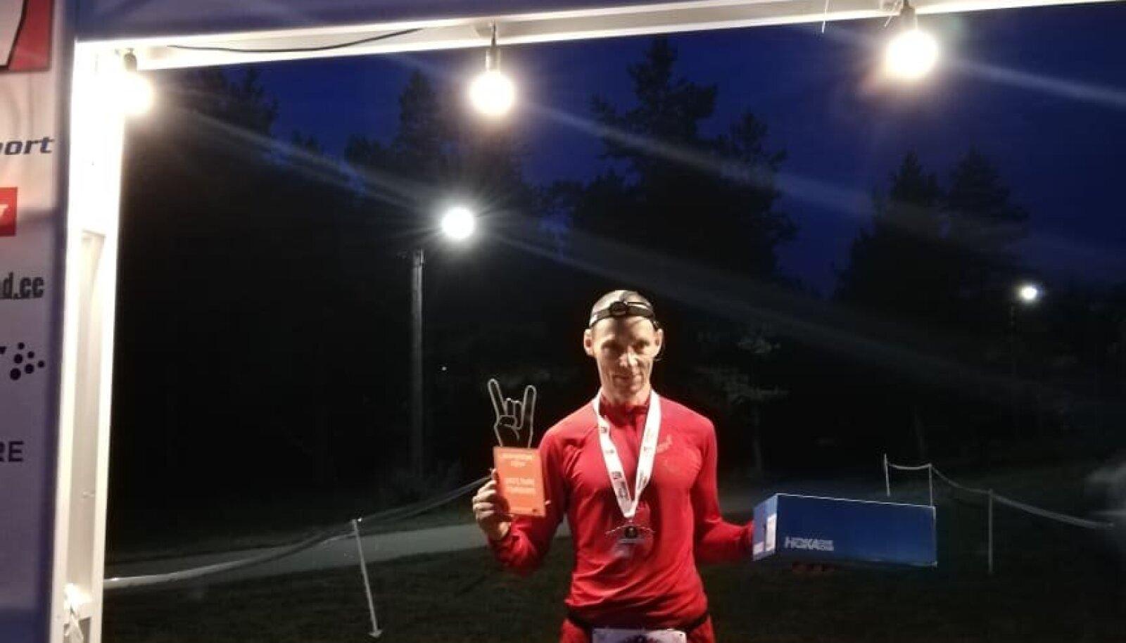 2019. aasta virtuaaljooks võitja Hannes Veide
