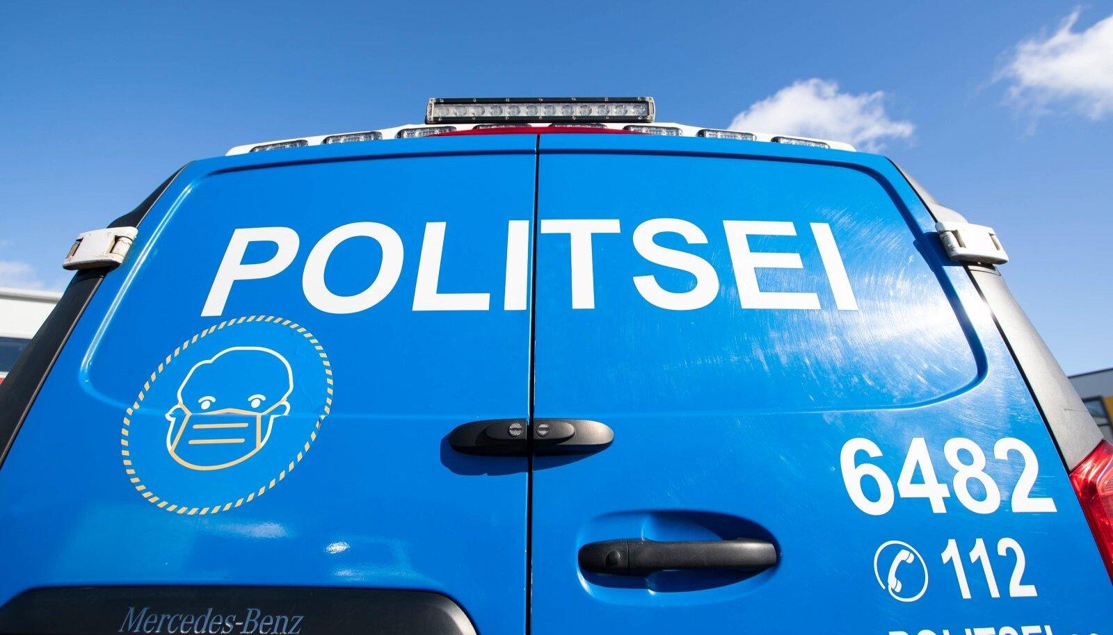 Politseibuss, pilt on illustratiivne.