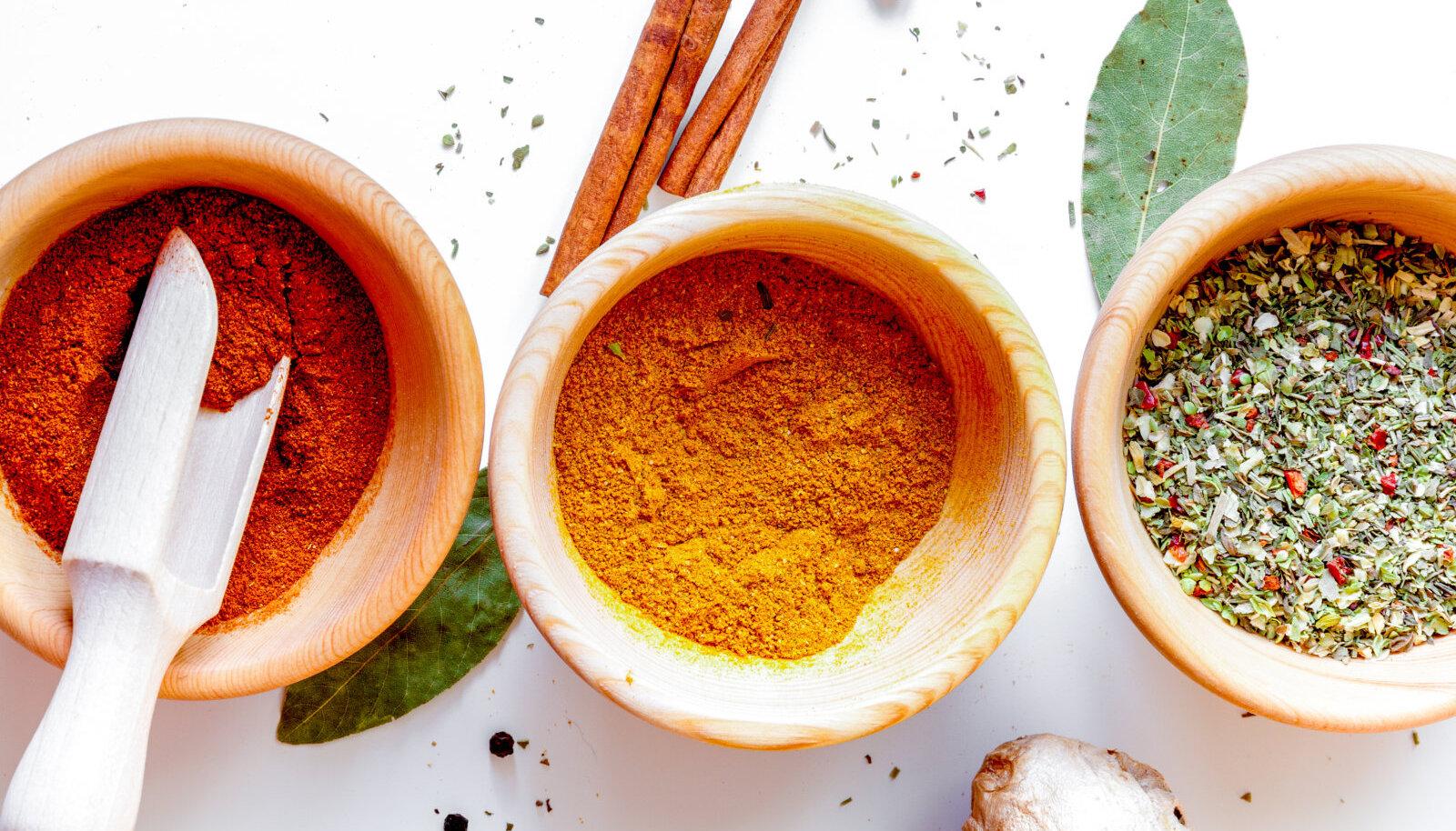 Vürtsid ja maitseained loovad toidule näo, annavad ilme ja iseloomu. Aga, kas me tunneme neid maitseaineid?