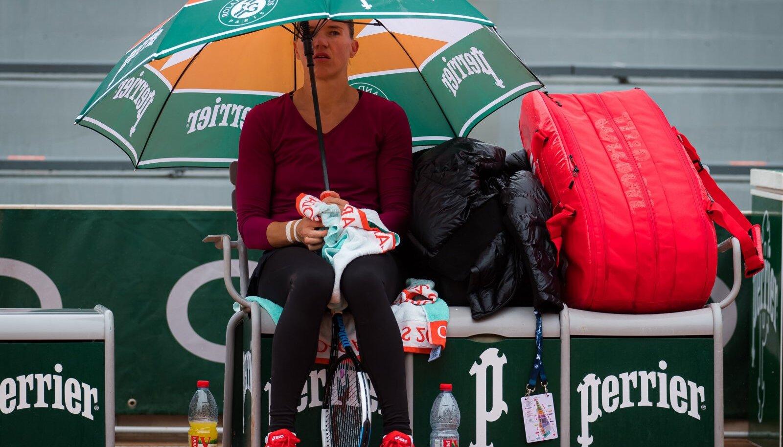 Kas Kaia Kanepil on veel põhjust Roland Garrosi vihmavarju all istuda, näitab aeg.