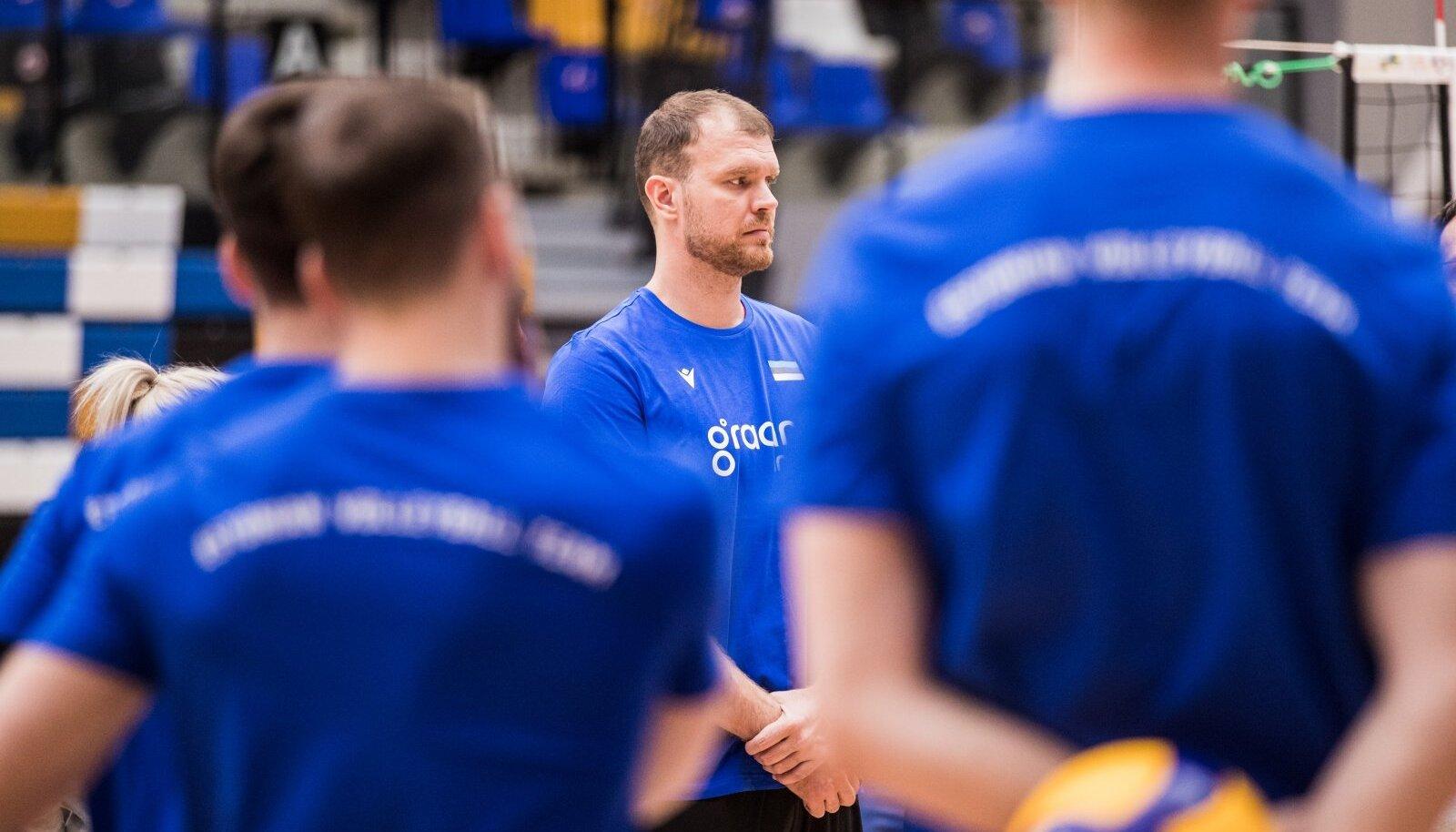 Eesti võrkpallikoondislased. Oliver Venno
