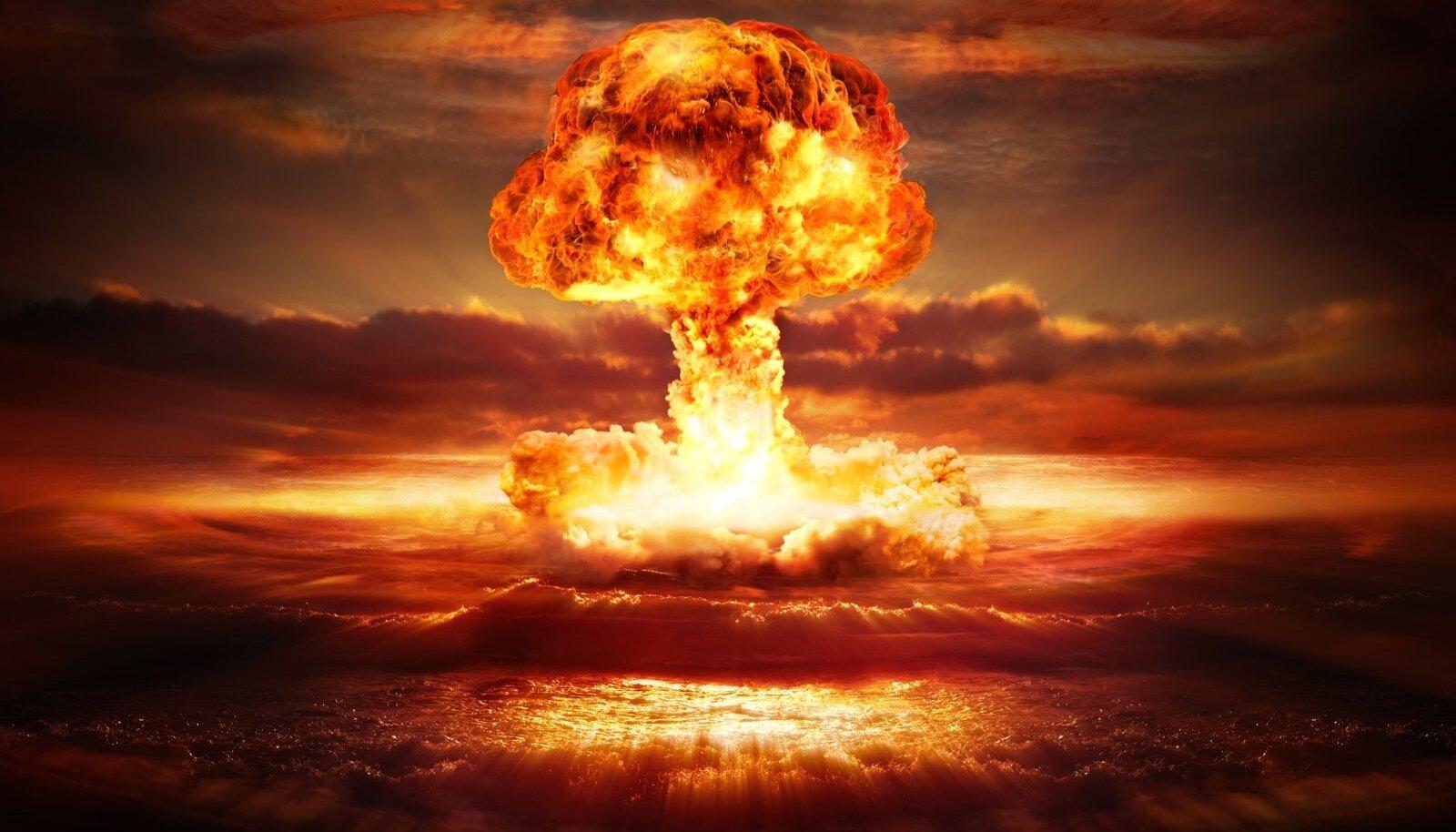 Tonne kaaluva tuumapommi nii-öelda süda, mis põhjustab plahvatuse tohutu võimsuse, on üsna väike.