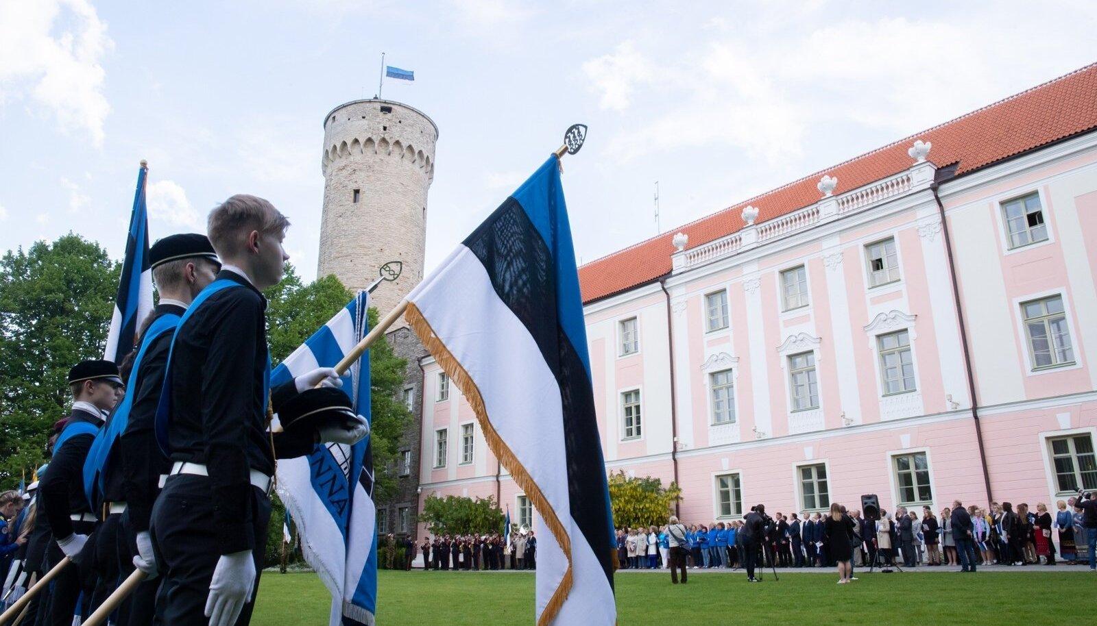 Eesti lipu päev Kuberneri aias