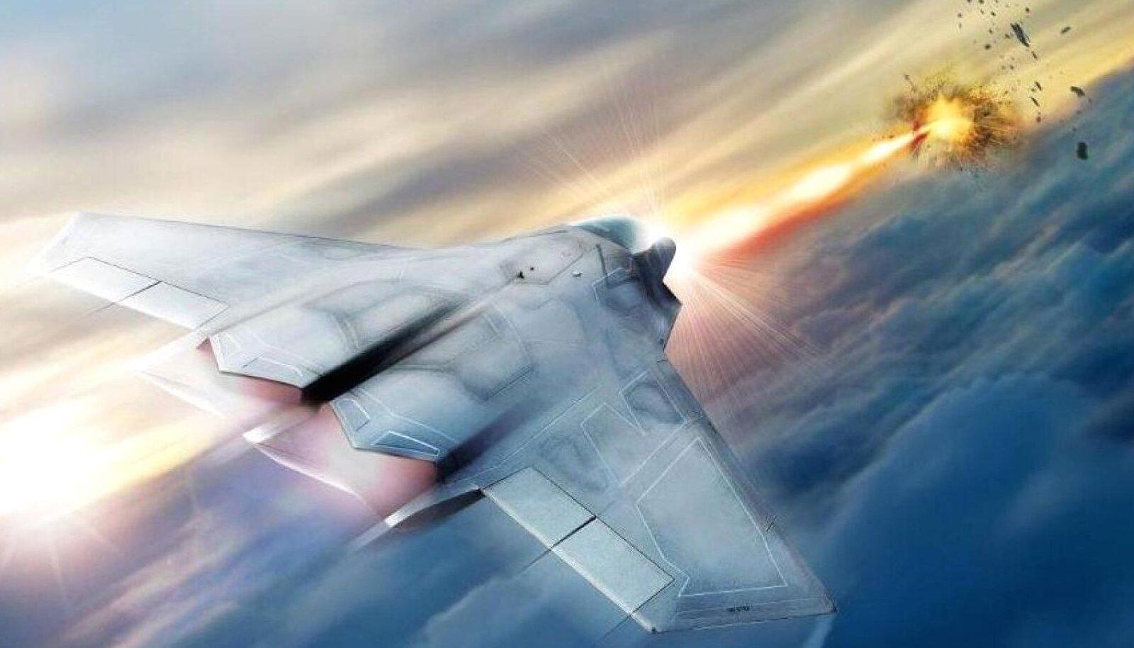 """Loodetavasti teeb laser ka ulmekalaseritest tuttavat """"piu-piu"""" häält."""