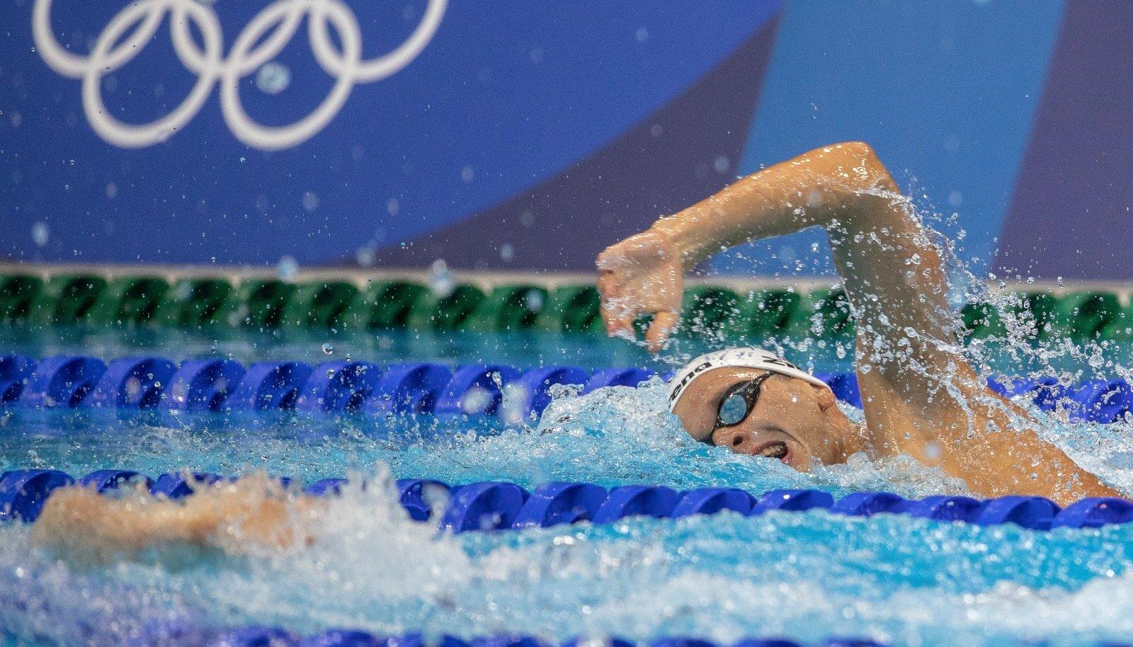 Ujujatel oli palavust kannatada ilmselt kõige kergem.