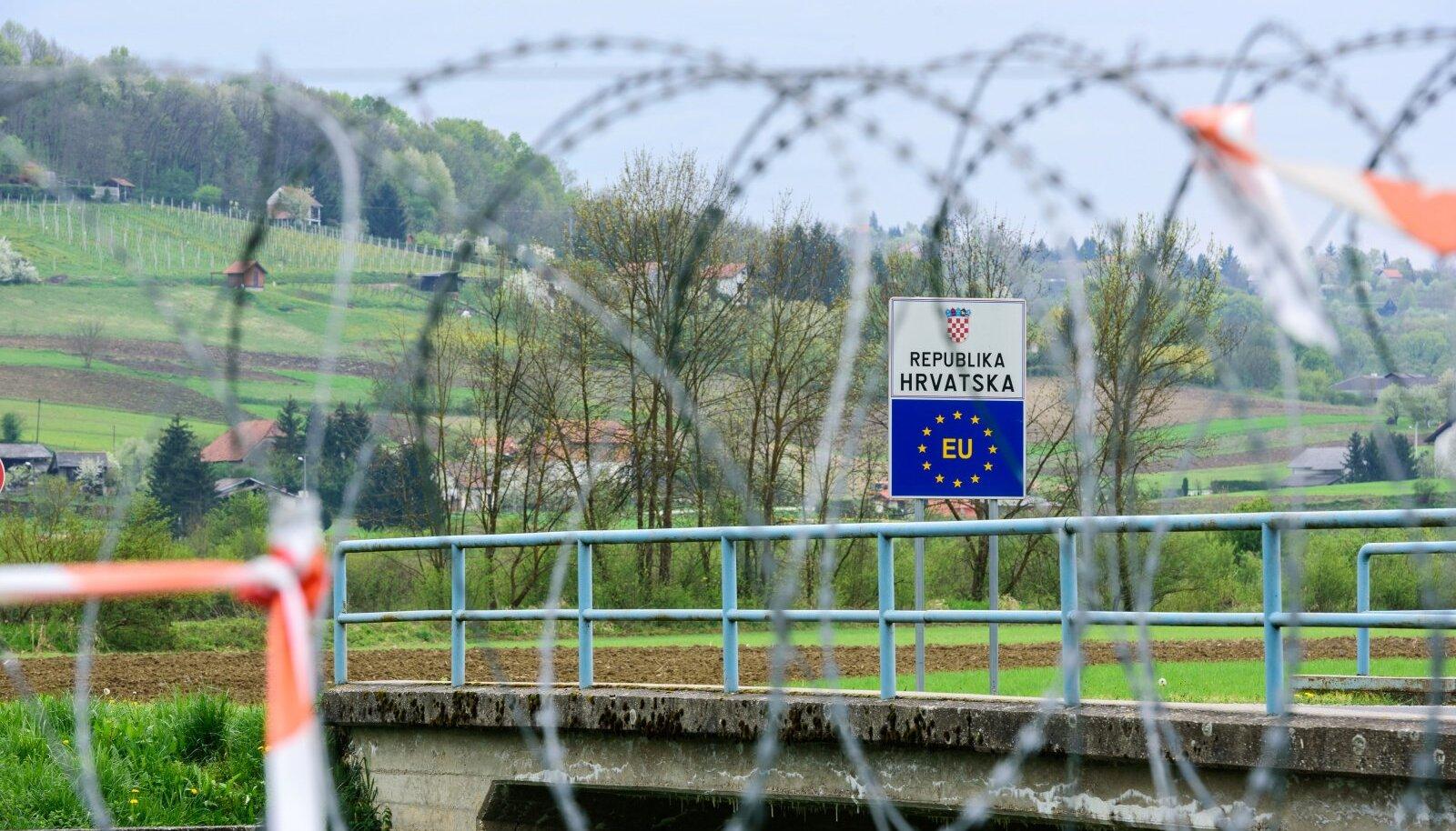 Sloveenia-Horvaatia piir