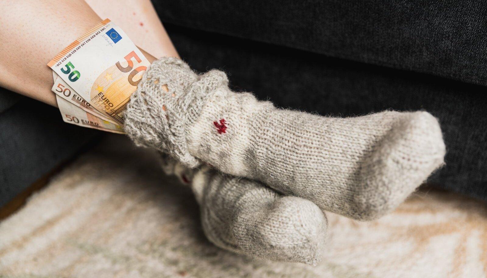 Kes kogub raha sukasäärde, kes teise pensionisambasse.