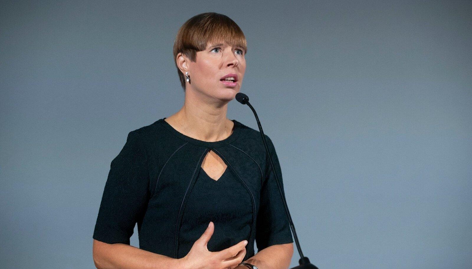 EE ja Äripäeva konverents, Kersti Kaljulaid