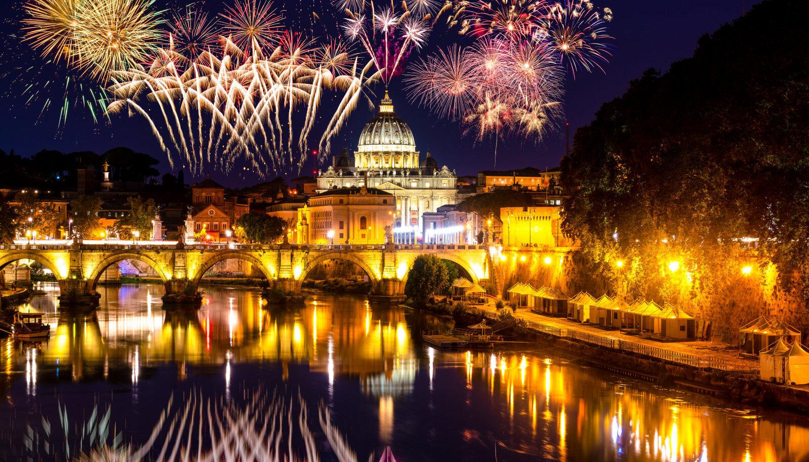 Aastavahetus Roomas - edasi-tagasi lennupiletid vaid 75 eurot