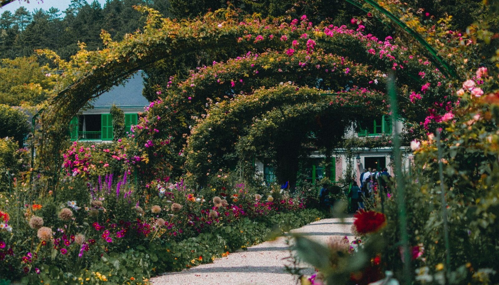 Claude Monet' aed Giverny`s