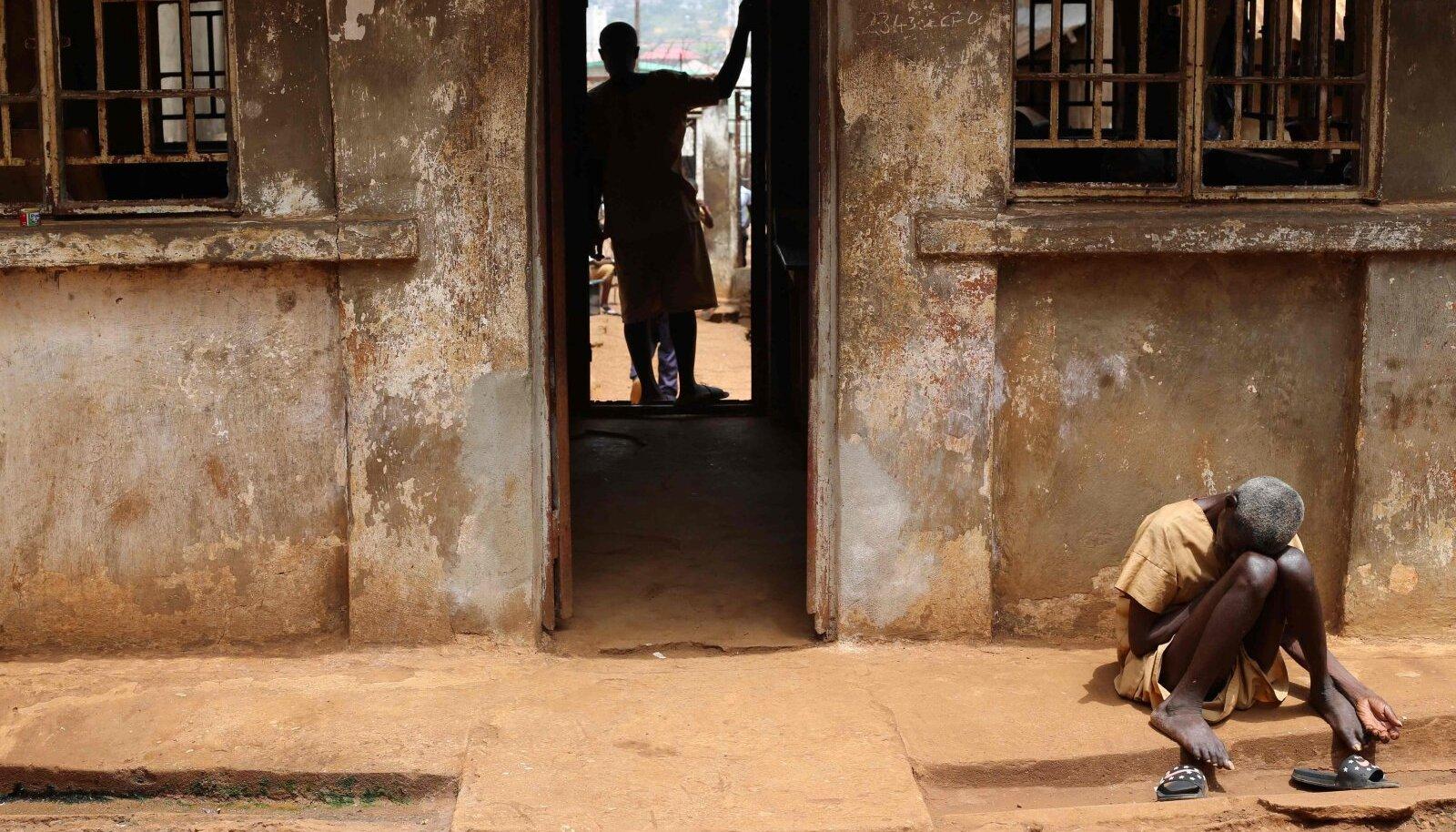 Sierra Leones Freetownis asuva keskvangla karmid olud.