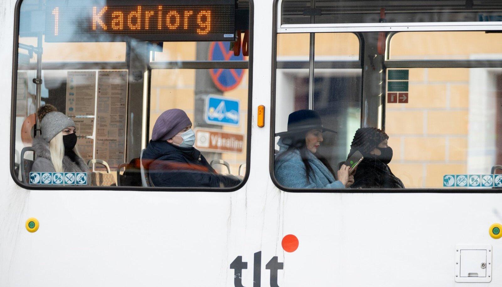 Maski kandmine avalikes siseruumides ja ühistranspordis