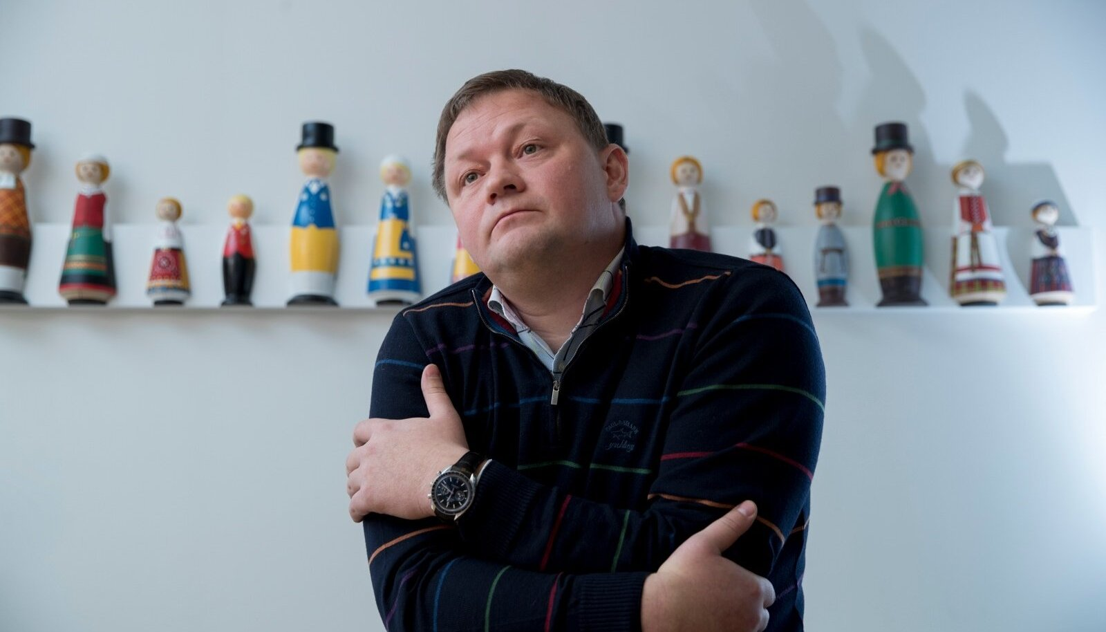 MURED BELGIAS: Graanul Investi omanik ja juhtRaul Kirjanen.