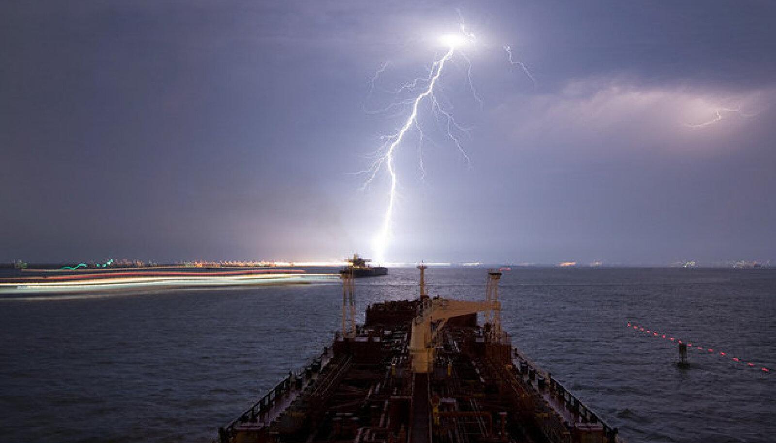 Äike mere kohal. Autor/allikas: Louis Vest/Creative Commons