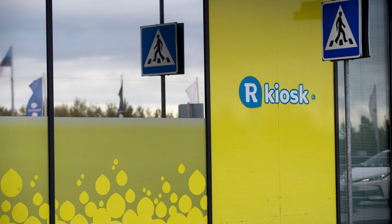 R-Kiosk Tallinna lennujaamas