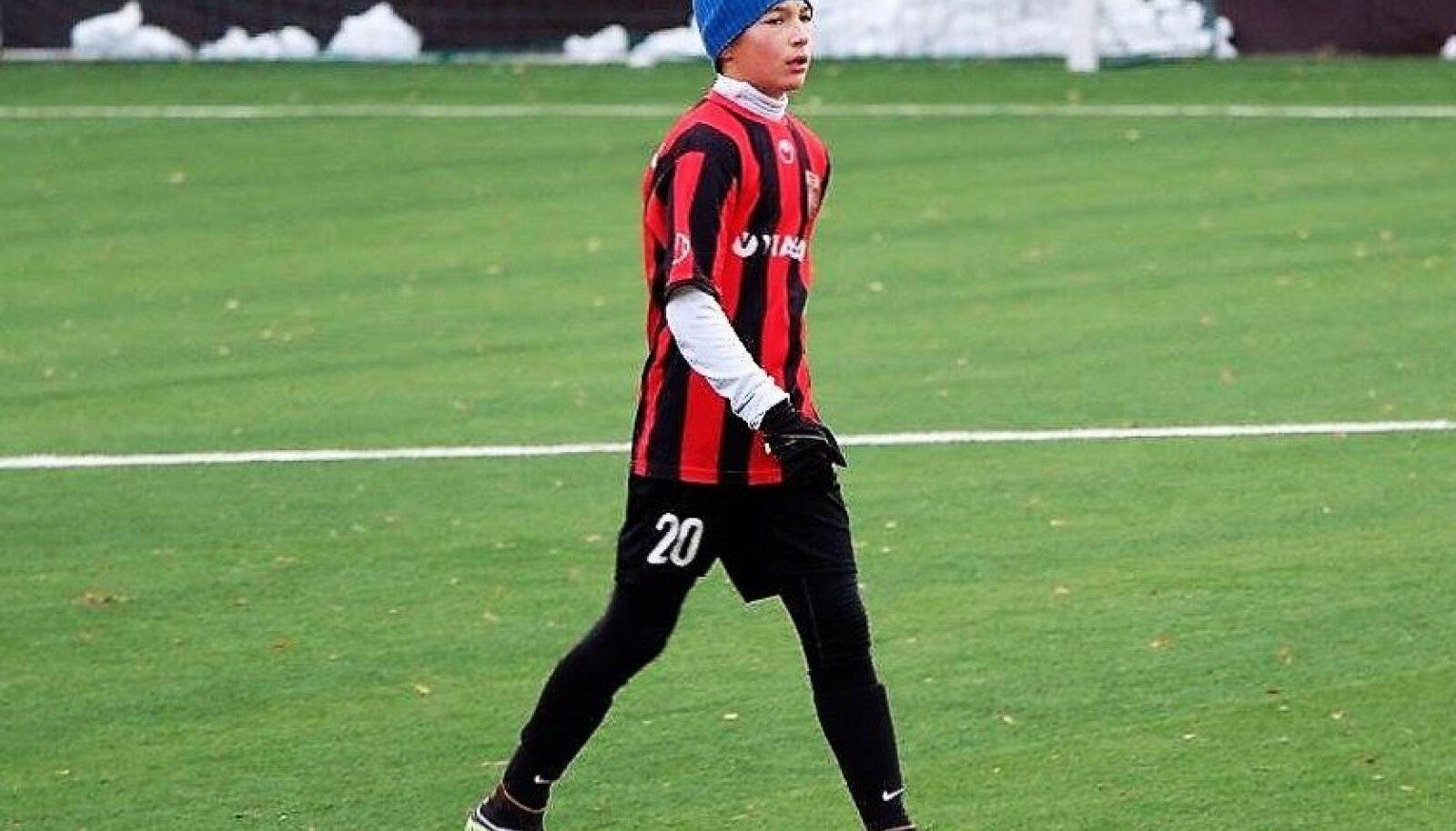 Oliver Jürgens Nõmme Unitedi särgis