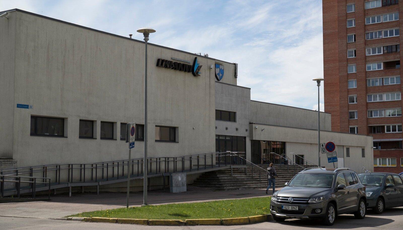 Lasnamägi, Lasnamäe, Lindakivi kultuurikeskus