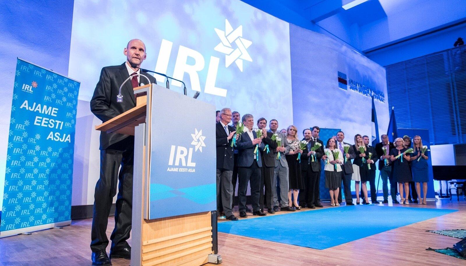 IRLi esimeheks valitus Helir-Valdor Seeder ja uued eestseisuse liikmed