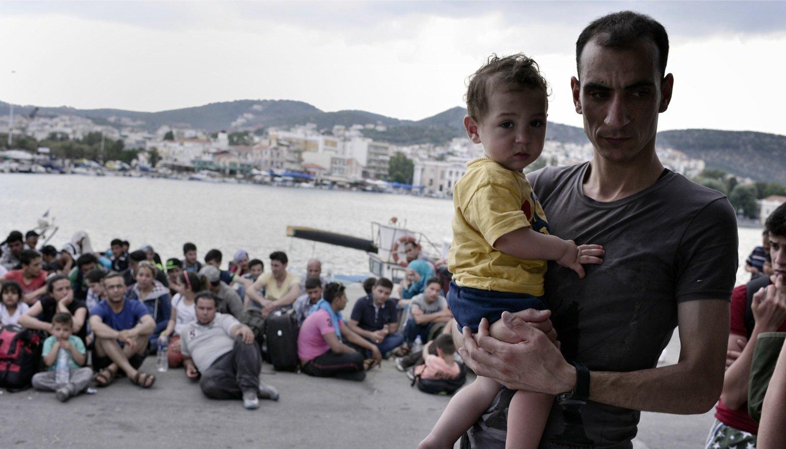Peamiselt tuleneb põgenike arvu kasv kodusõjas Süüria halvenevast olukorrast.