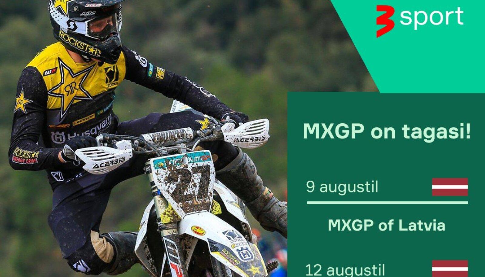MXGP tuleb tagasi