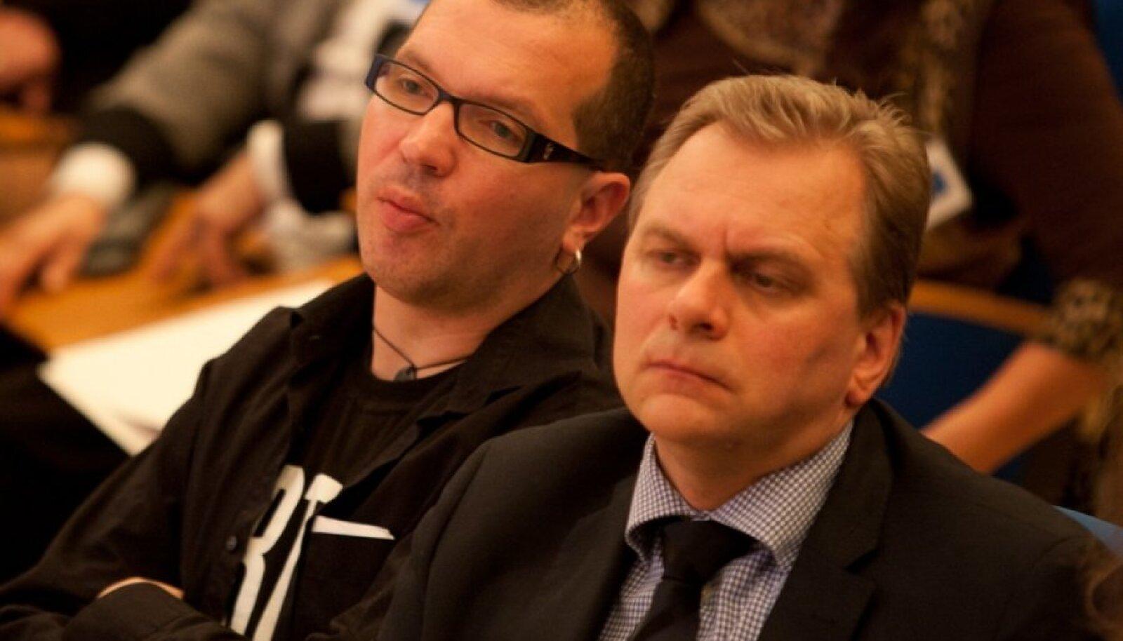 Andres Herkel ja Juku-Kalle Raid