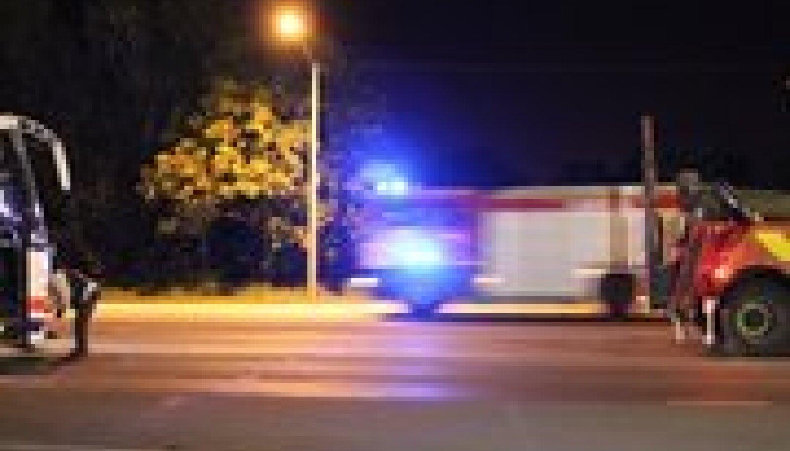 Õnnetus Peterburi maanteel.