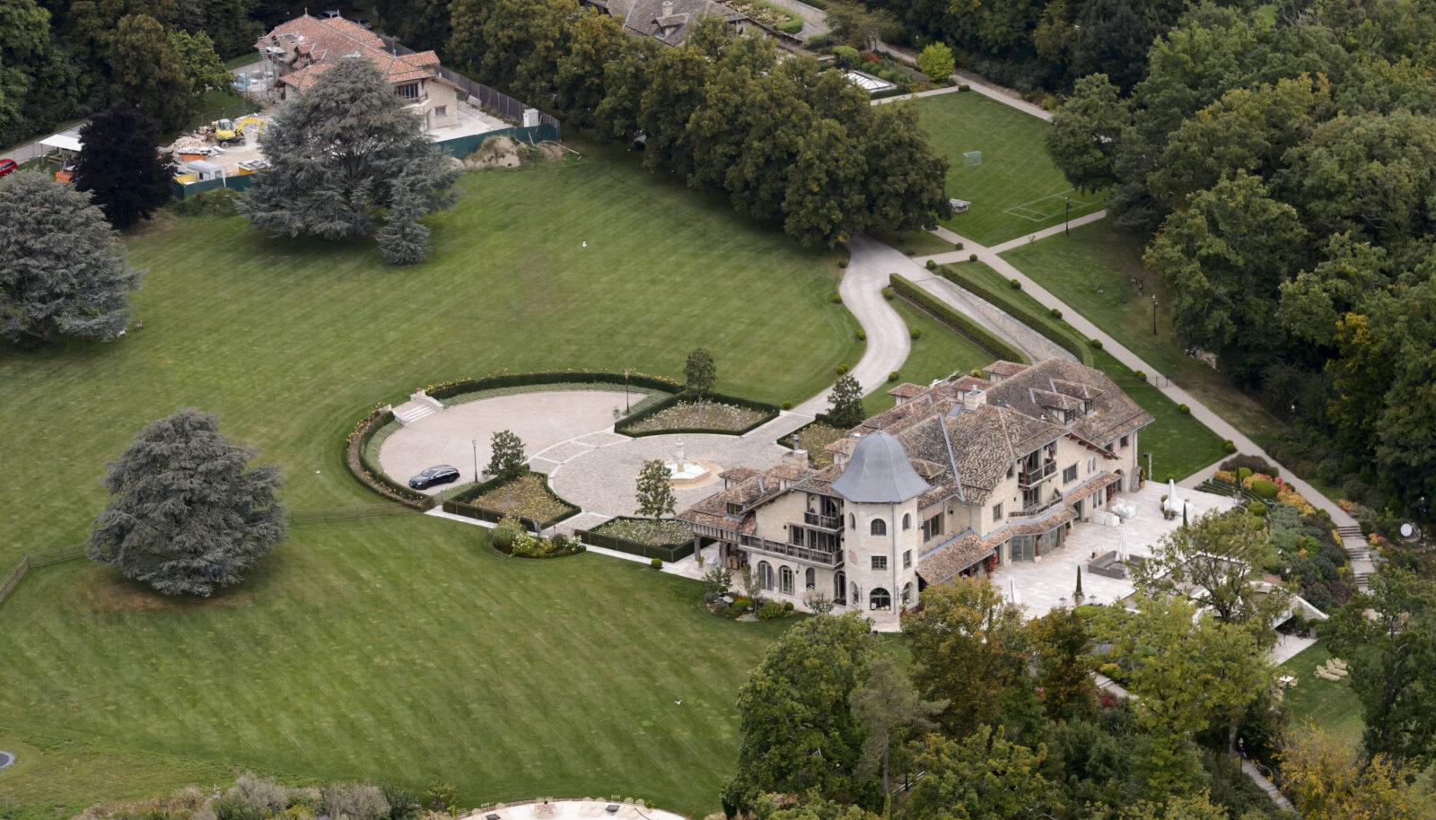Schumacherite villa Šveitsis.