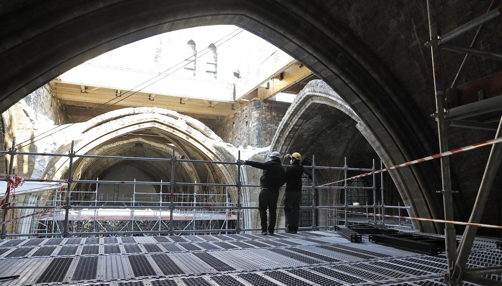 Katedraali taastamiseks tehakse alles ettevalmistustöid
