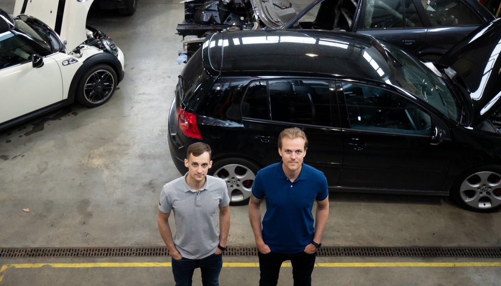 Kevin Kuusik (vasakul) ja Norman Kolk soovivad, et alles jääksid üksnes korralikud ja ausad töökojad.