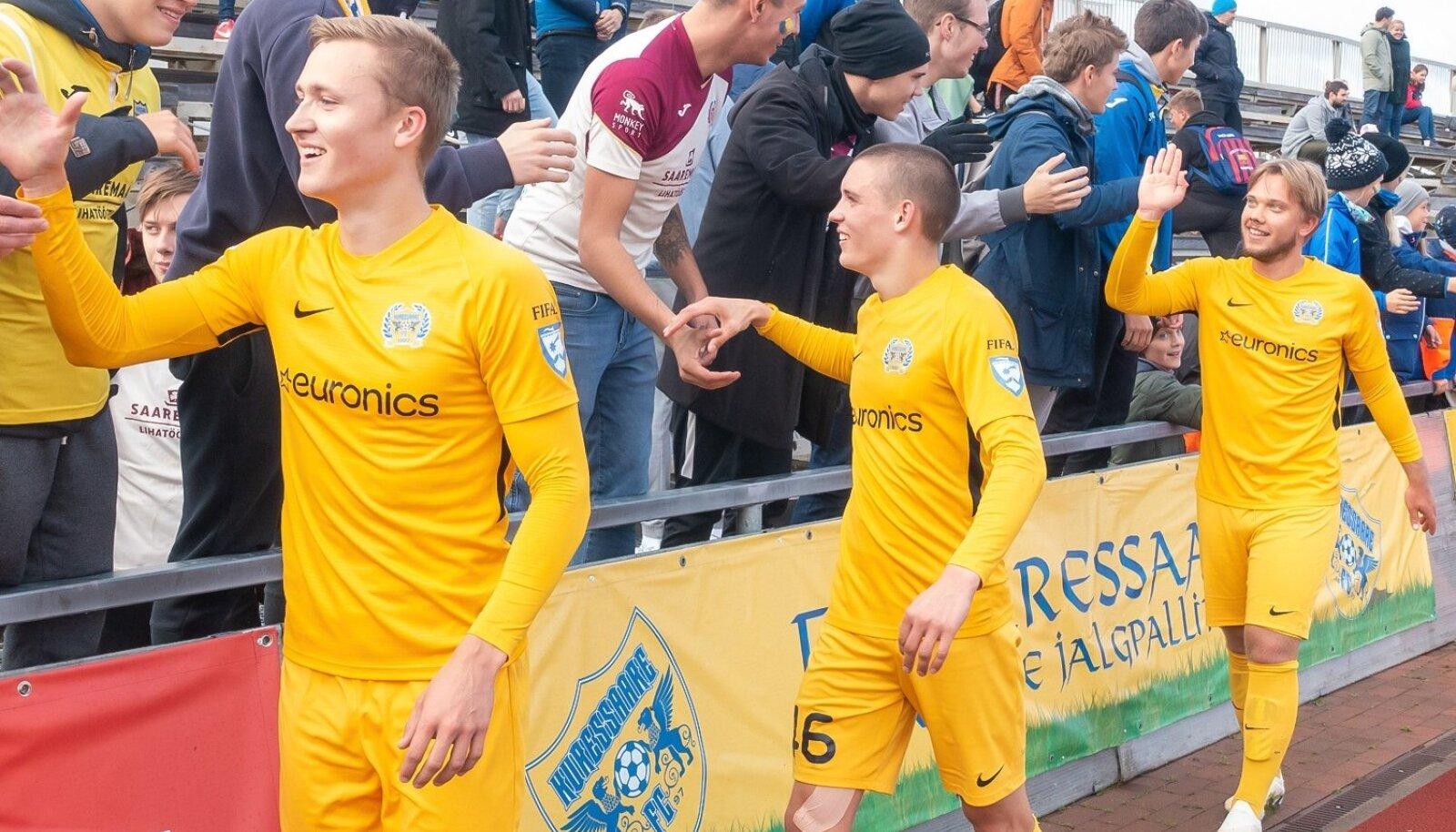 FC Kuressaare mängumehed