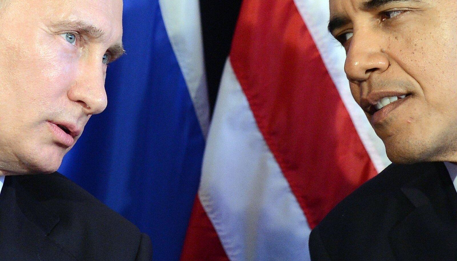 Putin ja Obama