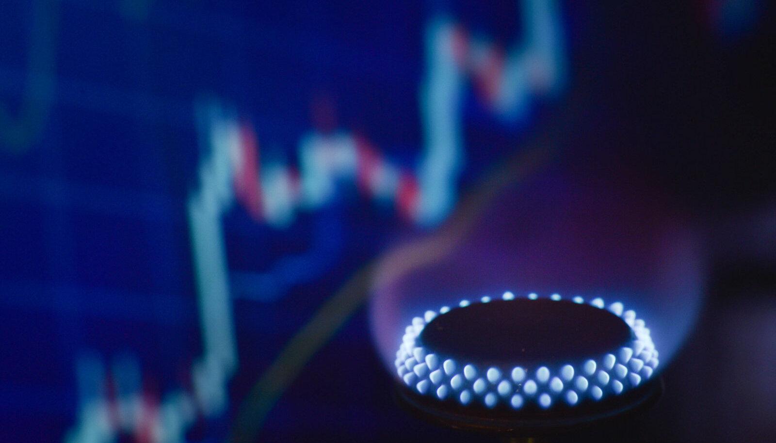 Euroopa hüppeliselt tõusvad gaasihinnad