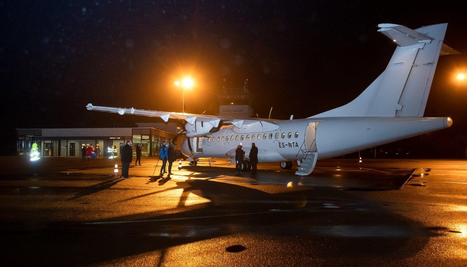 Kuigi saarlased said Kuressaare lennuliinile uue lennuki, algasid kohe ka sellega hädad.