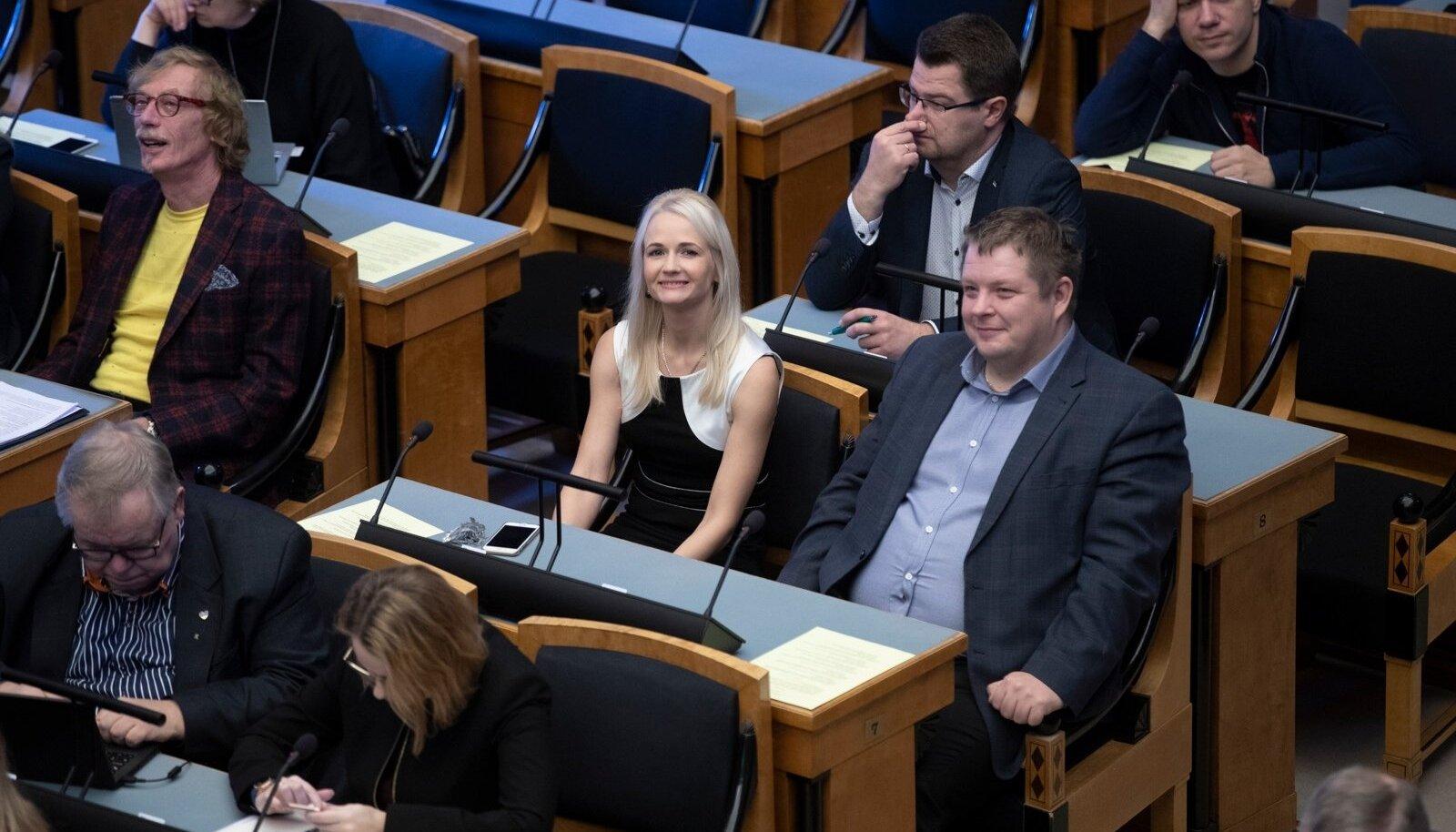Urmas Reitelmanni ENPA delegatsiooni liikmeks kinnitamine, Siret Kotka-Repinski, Erki Savisaar