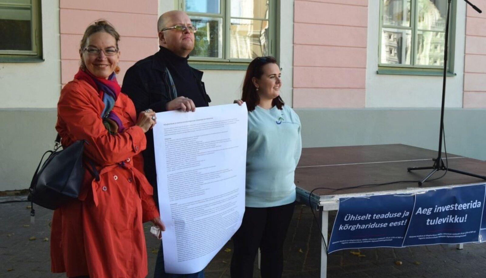 Haridusvaldkonna katusorganisatsioonid sõlmisid Eesti haridusleppe