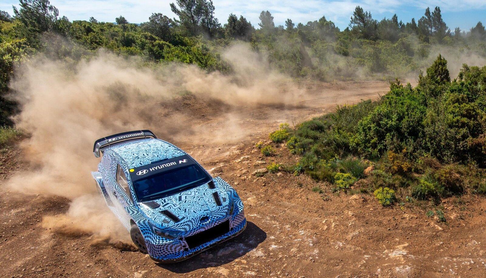 Hyundai uus võistlusmasin