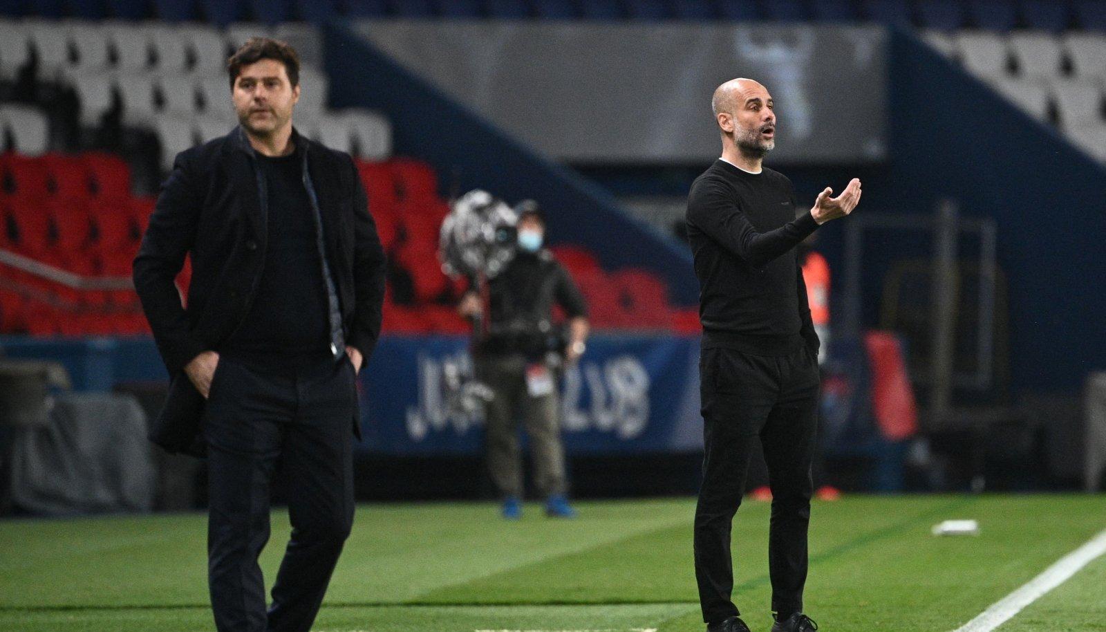 Mauricio Pochettino ja Pep Guardiola