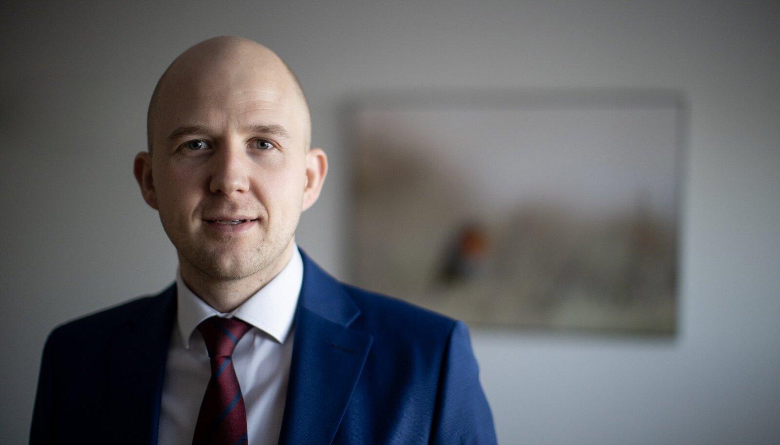 Keskkonnaminister Tõnis Mölder