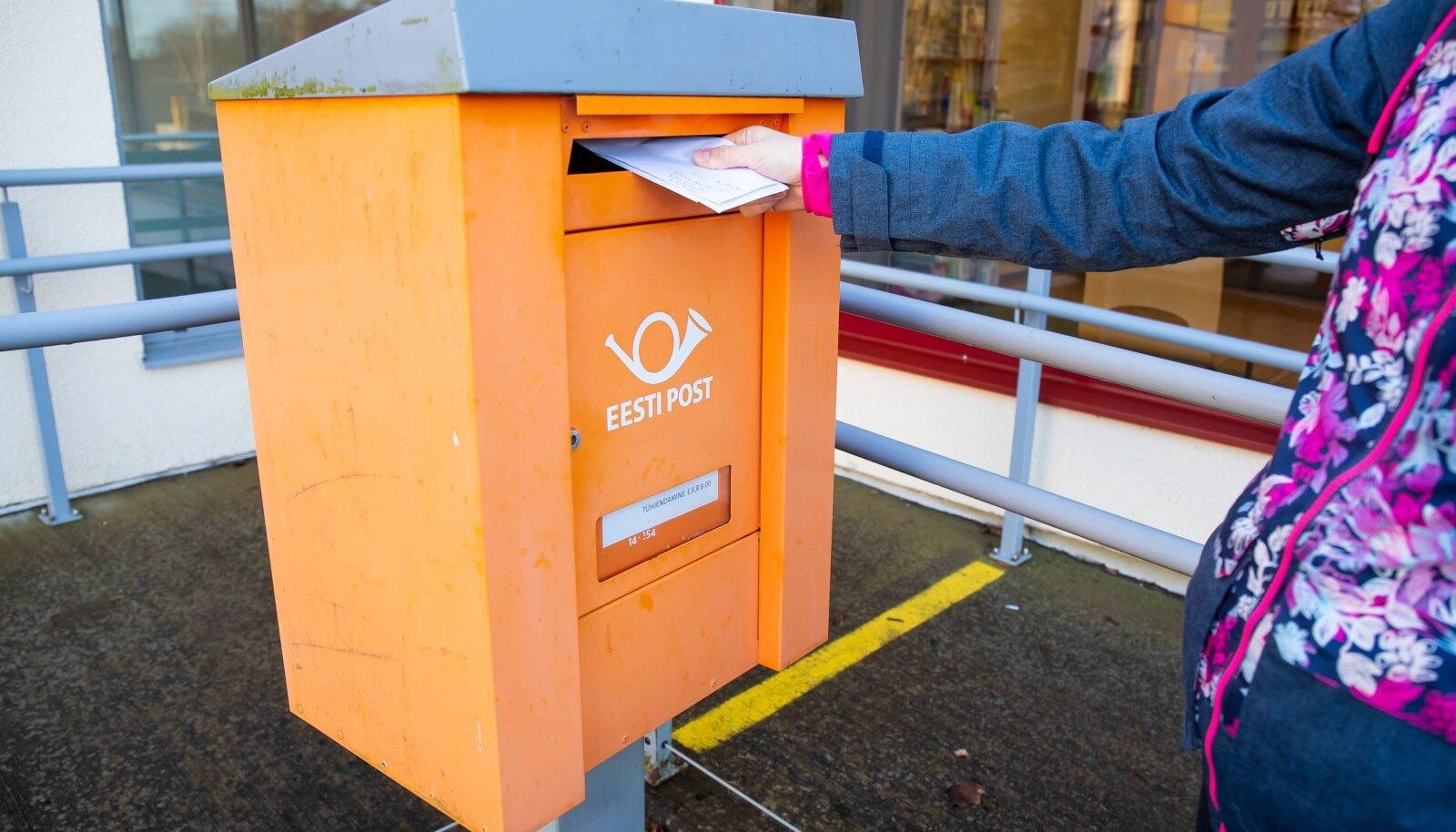 Omniva postkastid