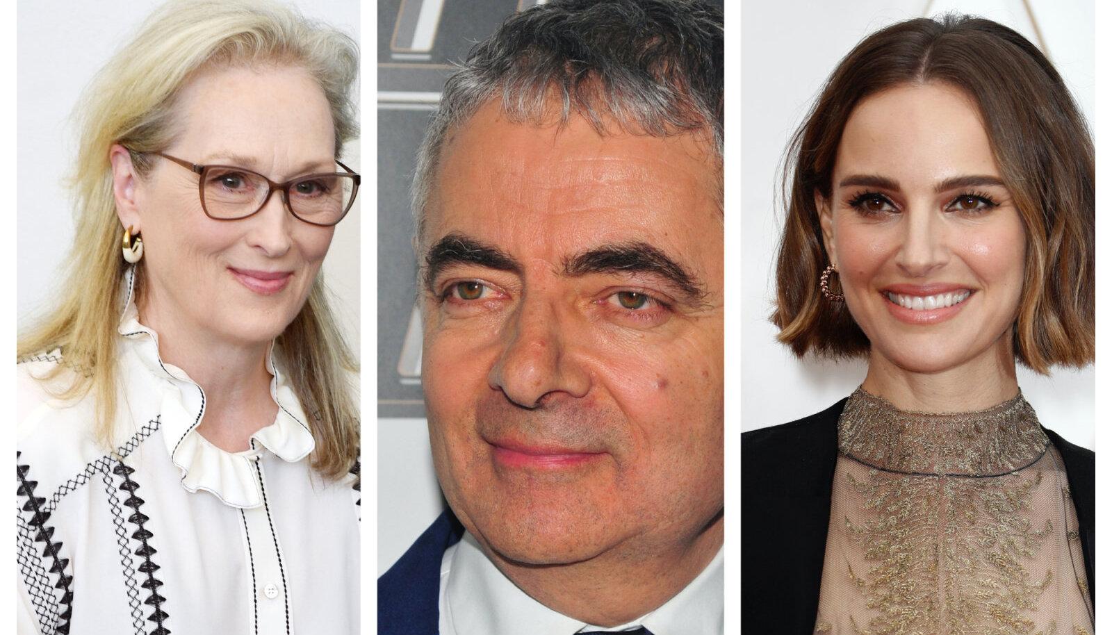 Meryl Streep, Rowan Atkinson, Natalie Portman
