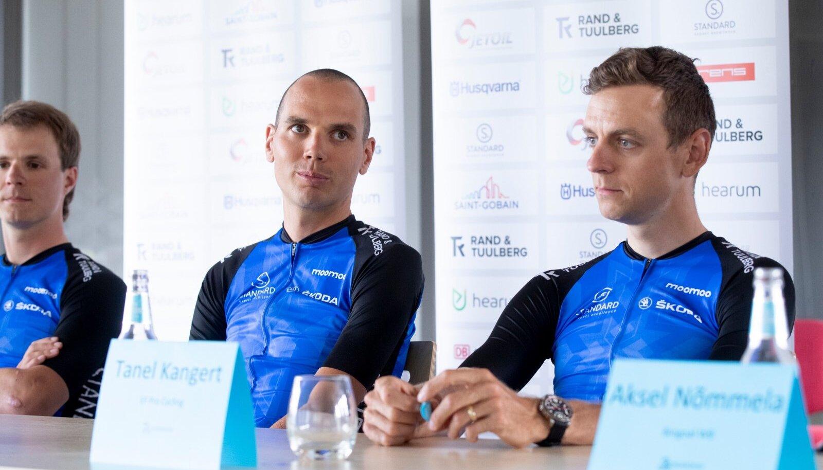 Eesti jalgrattakoondise pressikonverents, Taaramäe ja Kangert