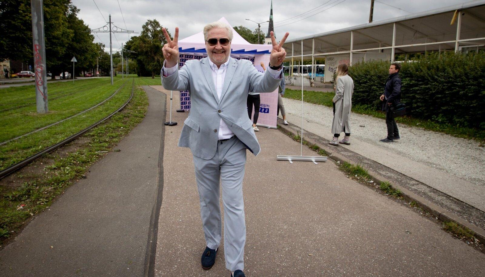 Eesti 200 Tallinna linnapeakandidaat Marek Reinaas