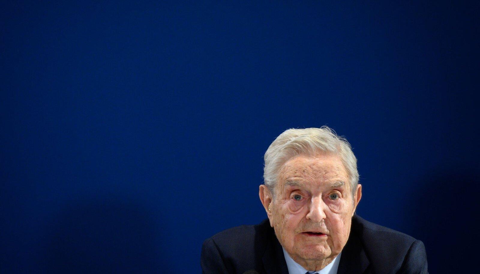 Spekulant ja filantroop George Soros