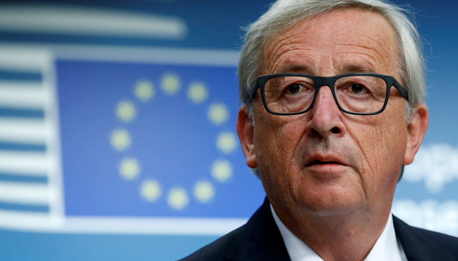 European Commission President Jean-Claude Juncker addresses a news conference during a EU leaders summit in Brussels, Belgium June 22, 2017.
