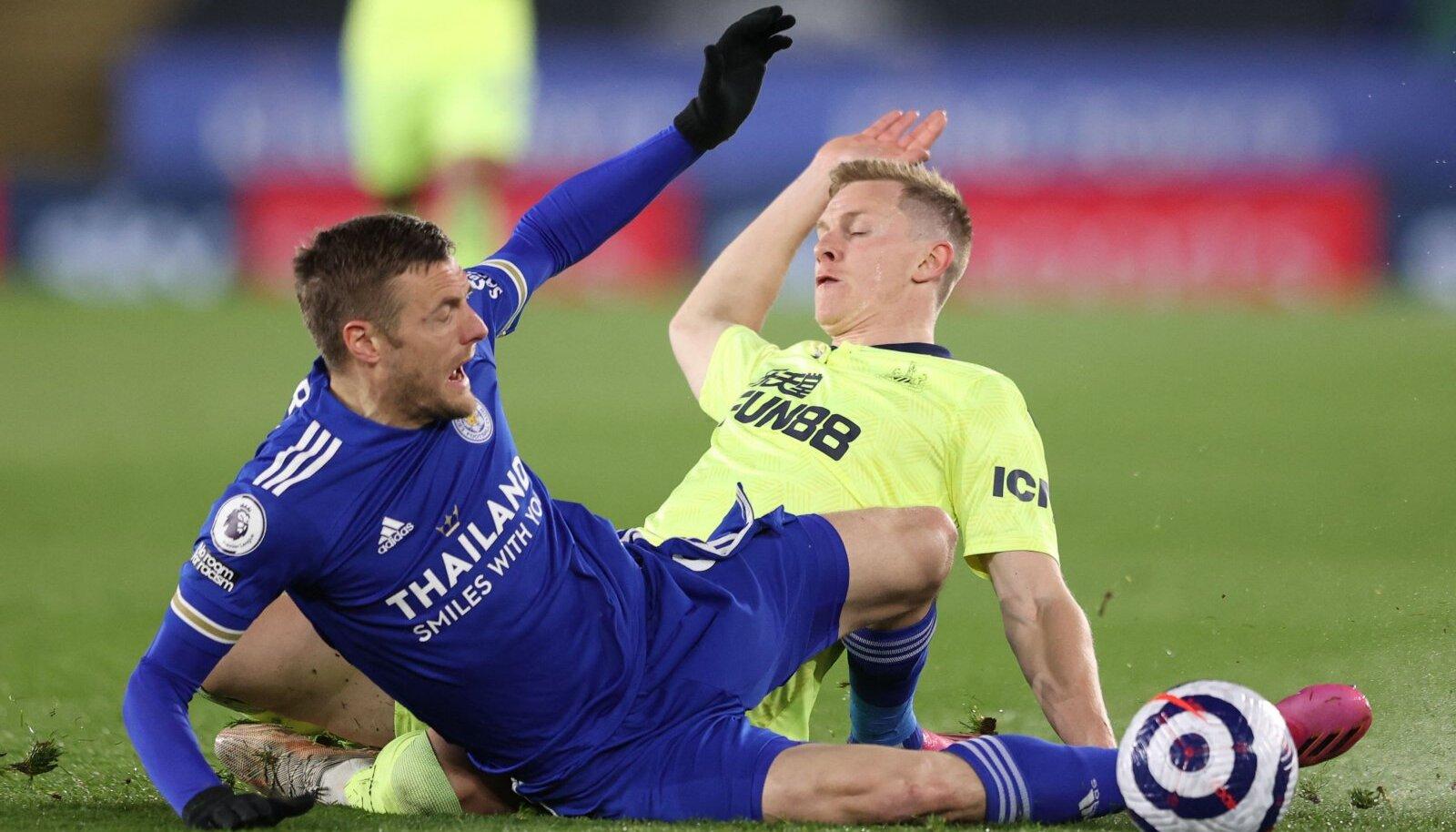 Leicester City ründaja Jamie Vardy